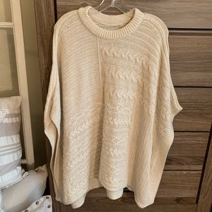 Abercrombie & Fitch Sweater Poncho